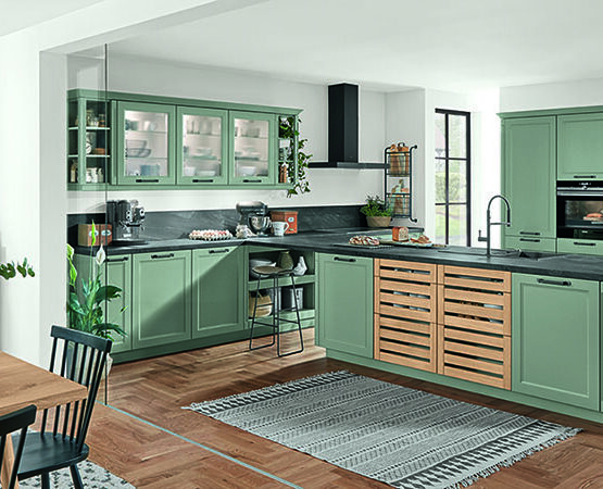 Groen keuken nieuwegein