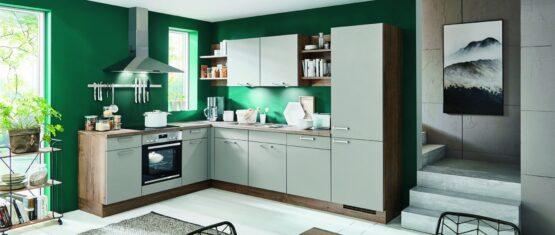 Keuken met afzuigkap