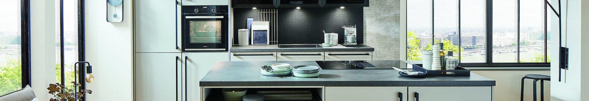 Evindie Keukens IJsselstein groen met wit